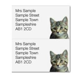 Direct Mail Personalised Stickers