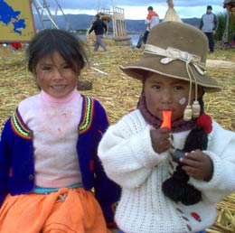 Peruvian children image